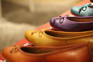 balerinki kolorowe