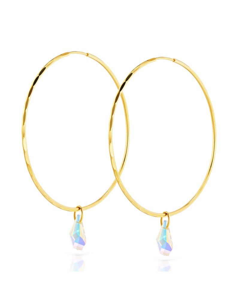 sklep z biżuterią - złote kolczyki Ergold